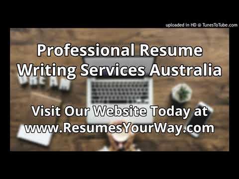 resume writing service australia