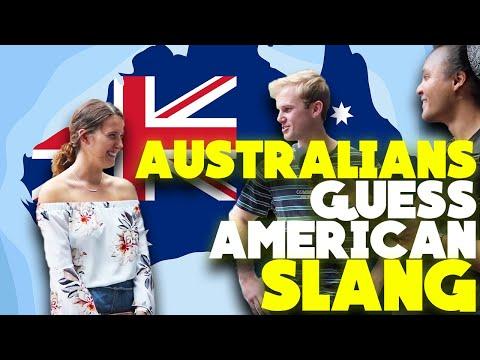 AUSTRALIANS guess AMERICAN
