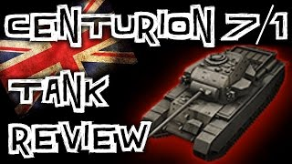 World of Tanks || Centurion 7/1 - Tank Review
