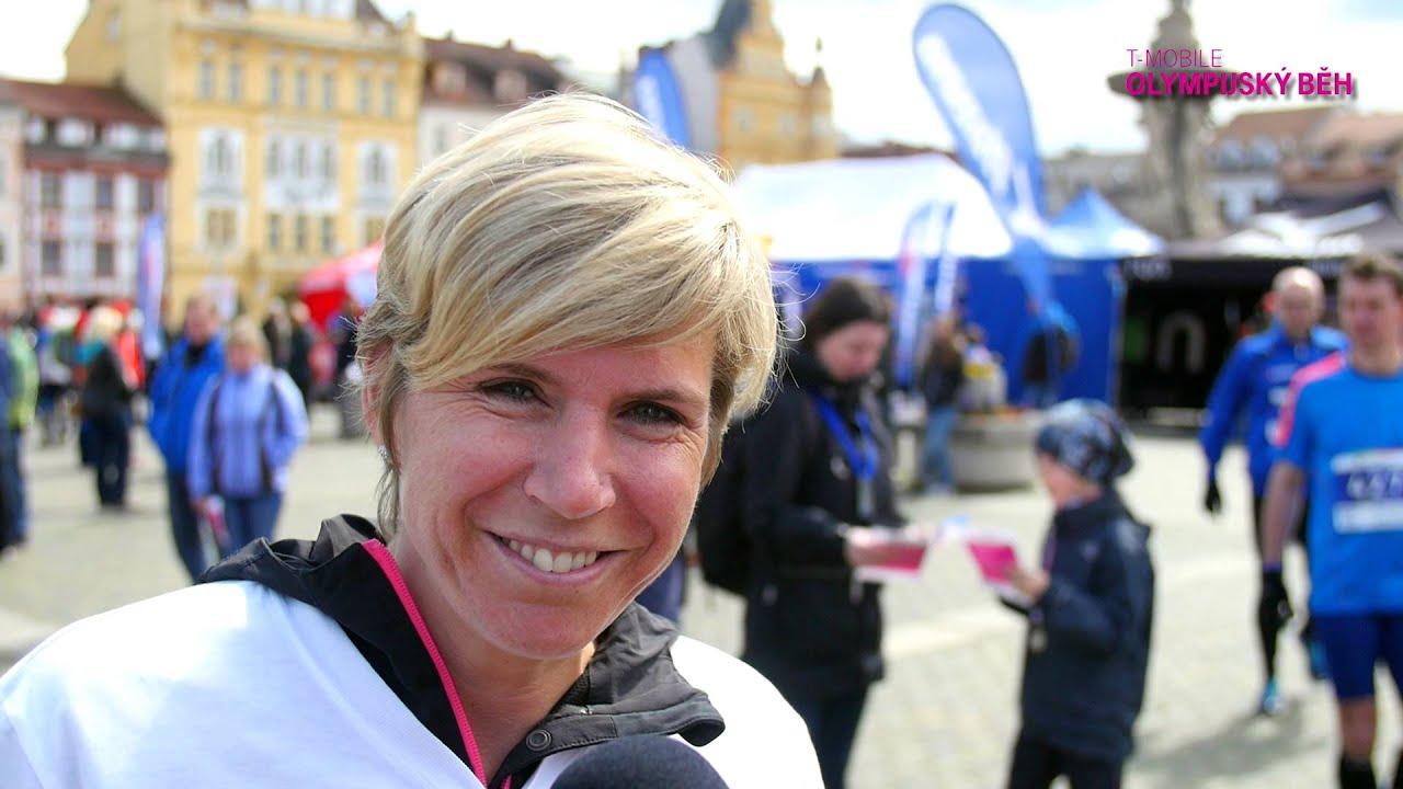 Rozběhni to solympijskou vítězkou Katkou Neumannovou