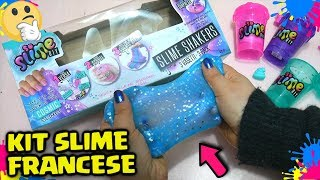 PROVO un KIT di SLIME FRANCESE: TOP o FLOP? Provo il Kit SO SLIME DIY Francese! By FrancyDreams