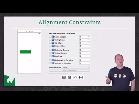 Introduction to Auto Layout in iOS: Adding Constraints in Interface Builder - raywenderlich.com