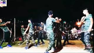Fauji dance army Gori||Tori chunri BA Lal Lal re/Bagal wali Jaan mareli🙏maja mare chala Hamra sange