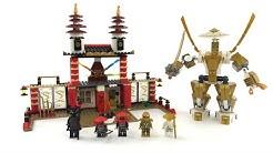 Der Tempel des Lichts im LEGO Ninjago Retro Review / Set 70505