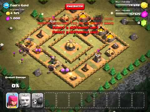 Clash of clans: Fools gold %100 campaign