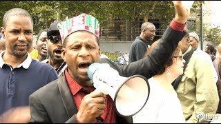 Stop aux massacres des Peuls au mali manifestation à Bruxelles