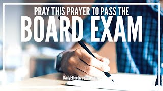 Prayer To Pass Board Exam - Prayer Before Taking Board Exam