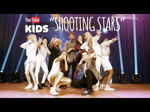 YouTube Kids Holiday Music Collab - Shooting Stars (Original Song performed at YouTube Space LA)
