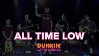 All Time Low Performs At The Dunkin Latte Lounge