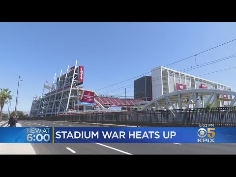 Feud Between Santa Clara And 49ers Over Levi's Stadium Heats Up