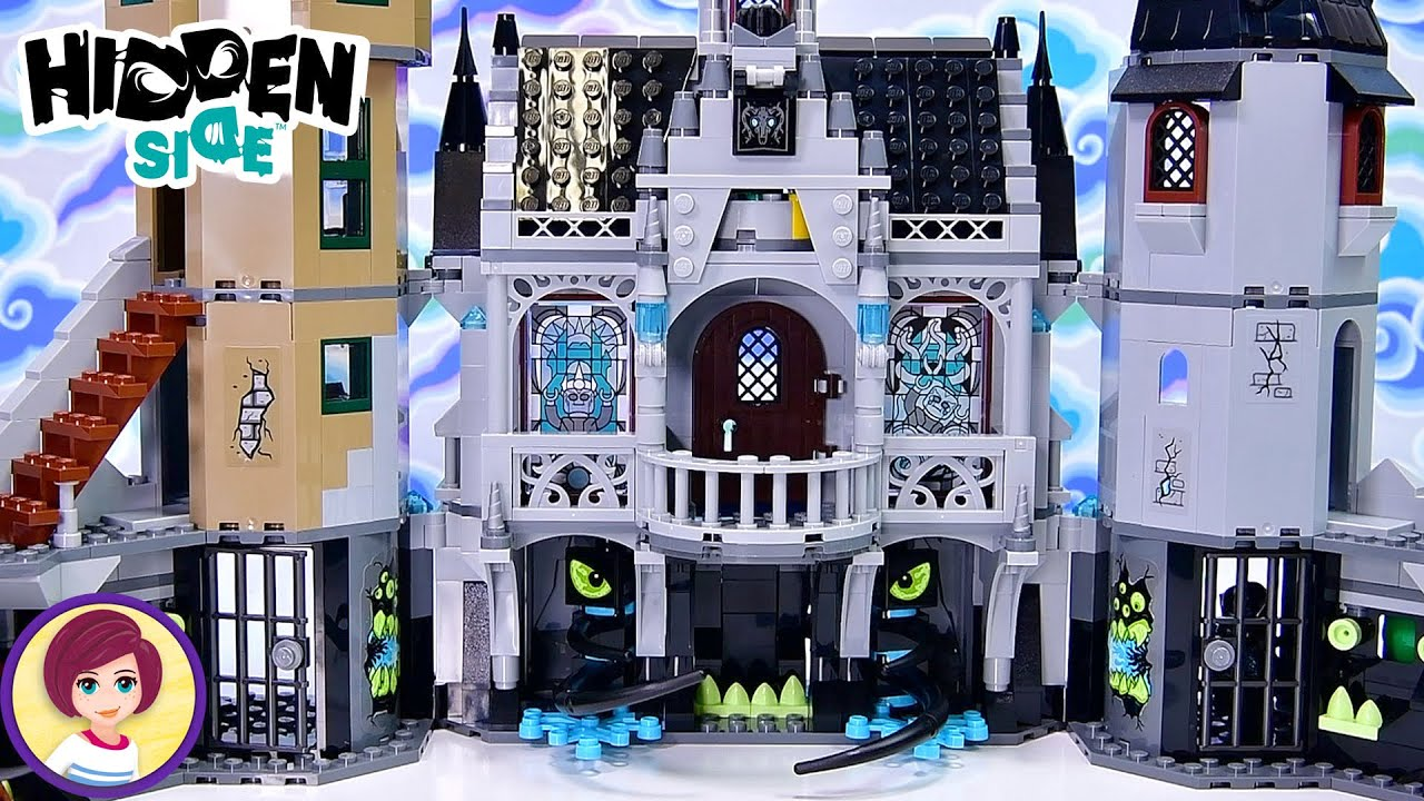 A creepy gothic castle for Halloween? Uh.....YAS!!! Lego Hidden Side Mystery Castle Build & Review