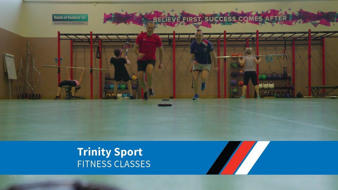 Fitness Classes - Trinity Sport - Trinity College Dublin