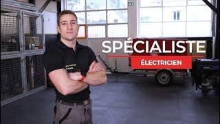C'est quoi ton job ? Électricien chez les sapeurs-pompiers de paris.