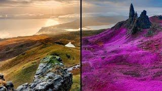 Pink Nature/Landscape Photo Effect - GIMP 2.8 Tutorial
