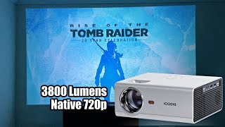 iCODIS T400 LED Video Projector - 720p - 3800 Lumens - Only $109 - Any Good?