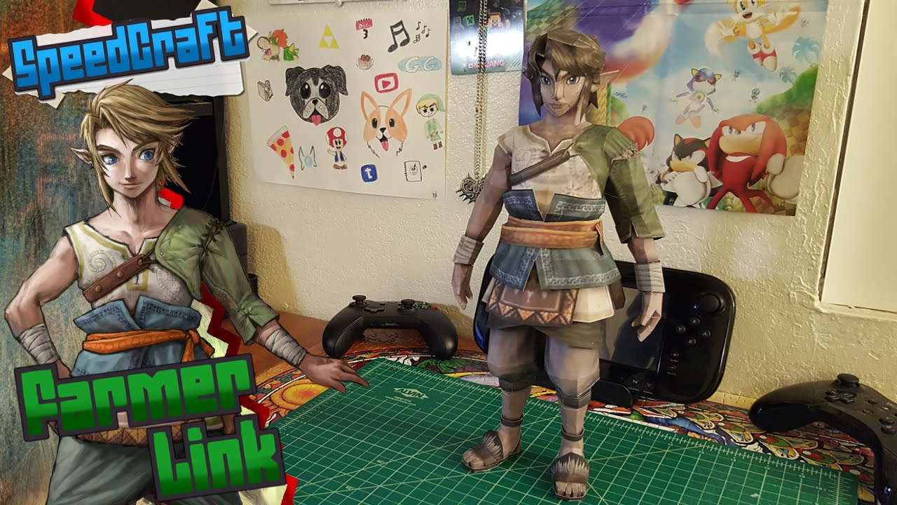 Papercraft The Legend of Zelda Papercraft ~ Ranch Link ~