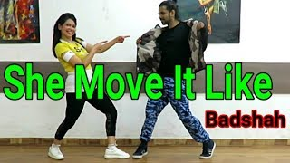 Zumba On She Move It Like - Badshah | Dance Choreography | Easy Moves | Studio XD