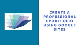 So Erstellen Sie eine Kostenlose, Professionelle ePortfolio Mithilfe von Google Sites