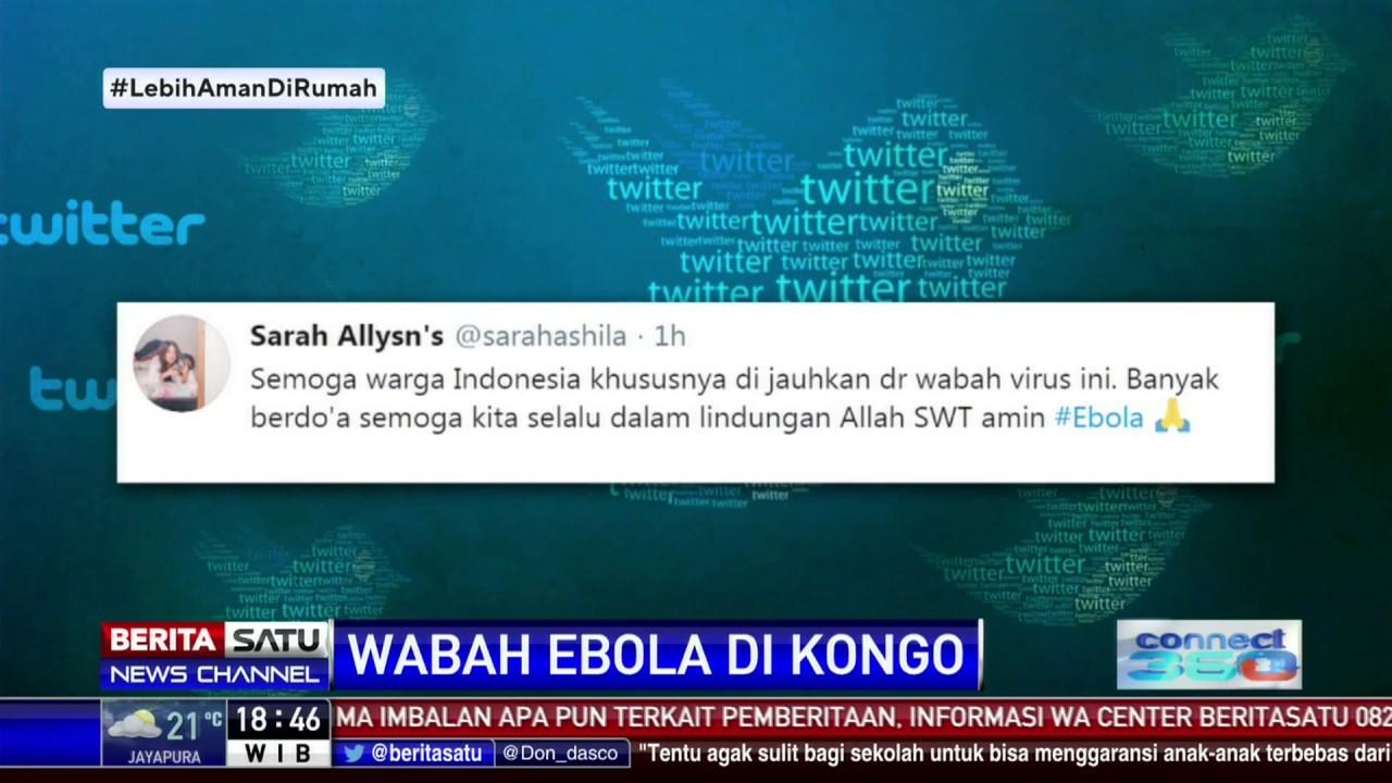 Covid-19 Belum Kelar, Muncul Wabah Ebola di Kongo