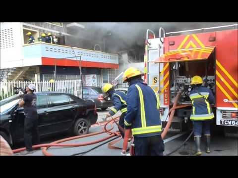 Fire on Cipero St. San Fernando Destroy two Multi-Million Dollar Business Places - August 8, 2016