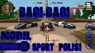Mobil Polisi Menjadi Lebih Keren | Bagi-Bagi GTA SA Lite Android #01