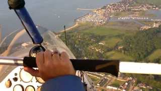 Take a flight around the Isle of Wight!