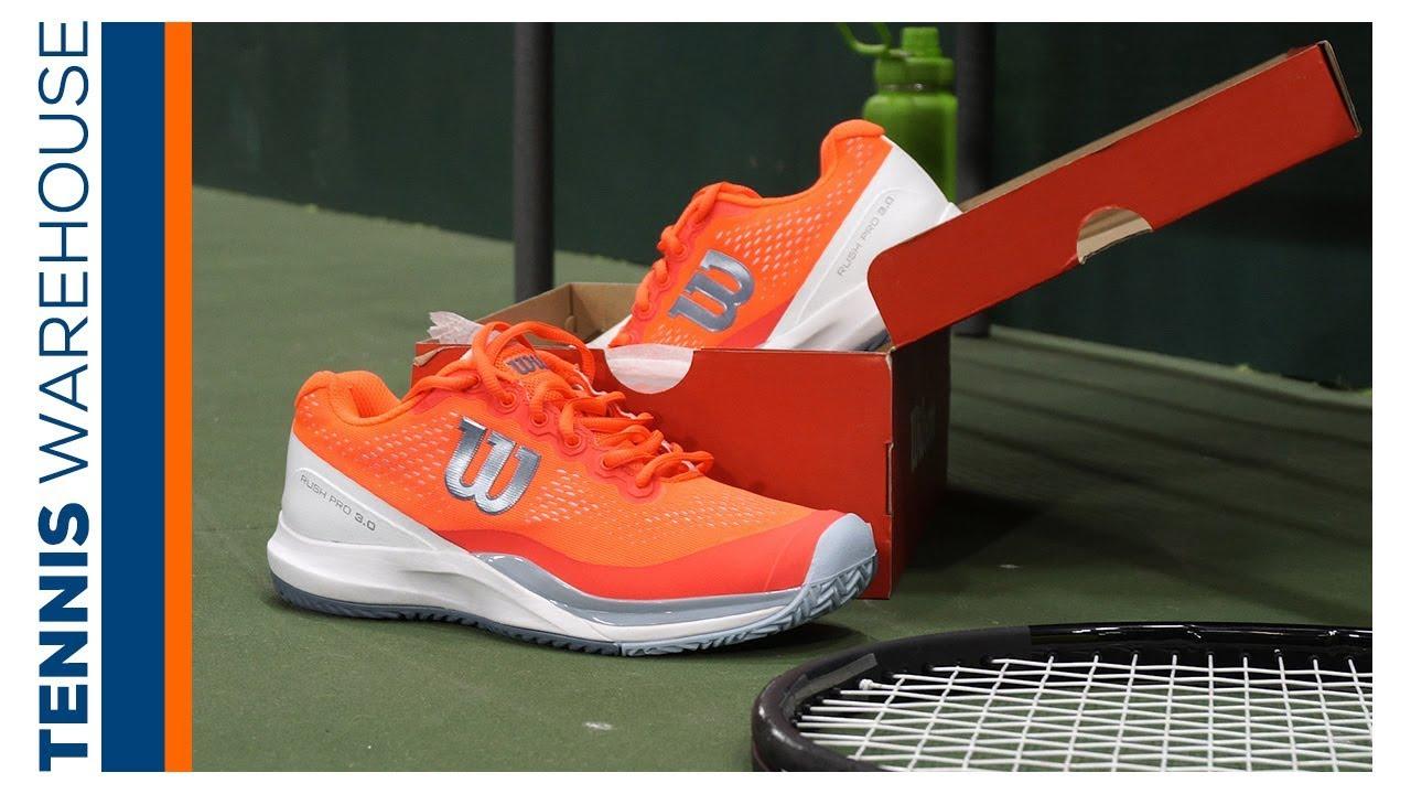 Wilson Rush Pro 3 Women's Tennis Shoe Review
