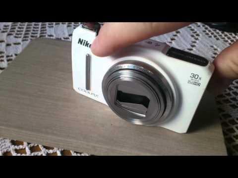 Nikon Coolpix S9700 problem objektiv