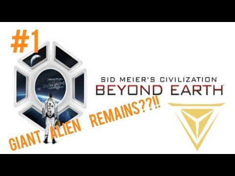 Giant Ancient Alien Remains???  |  Civilization Beyond Earth Supremacy #1