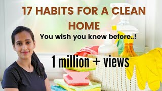 17 Everyday Habits For A Clean Home - Tips For Keeping Home Clean