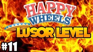 WIEDER EIN HAUFEN ACTIONREICHER LUSOR LEVEL | HAPPY WHEELS #11