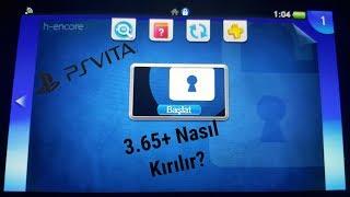 PSVita 3.65,3.67 ve 3.68 nasıl kırılır? (H-encore) [Altyazıyı Açınız]