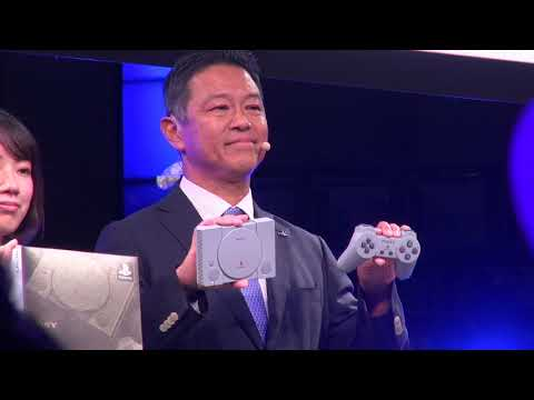 PlayStation Classic unveiled at Tokyo Game Show 2018 [RAW VIDEO]