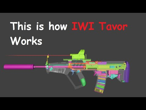 This Is How IWI Tavor Works | WOG |