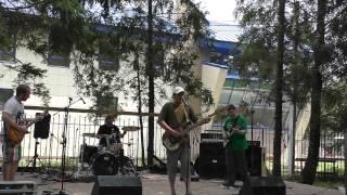 группа Побег Молодого Бамбука (Молодёжный фестиваль г. Хотьково - 9.08.2015)