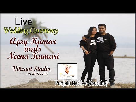 LIVE WEDDING CEREMONY BY VIKRANT STUDIO BEGOWAL