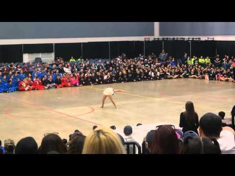 Austin Middle School Kayla Montemayor Solo Winner at ADTS Competition 2016