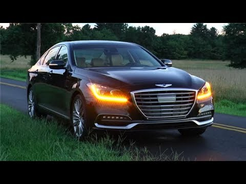 2018 Genesis G80 Ultimate 5.0 HTRAC Test Drive Video Review