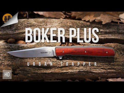 Boker Plus Urban Trapper | EDC Gentlemen's Folding Knife