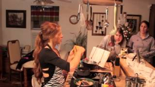 2013 Christmas Cooking Demo | Spaghetti Squash