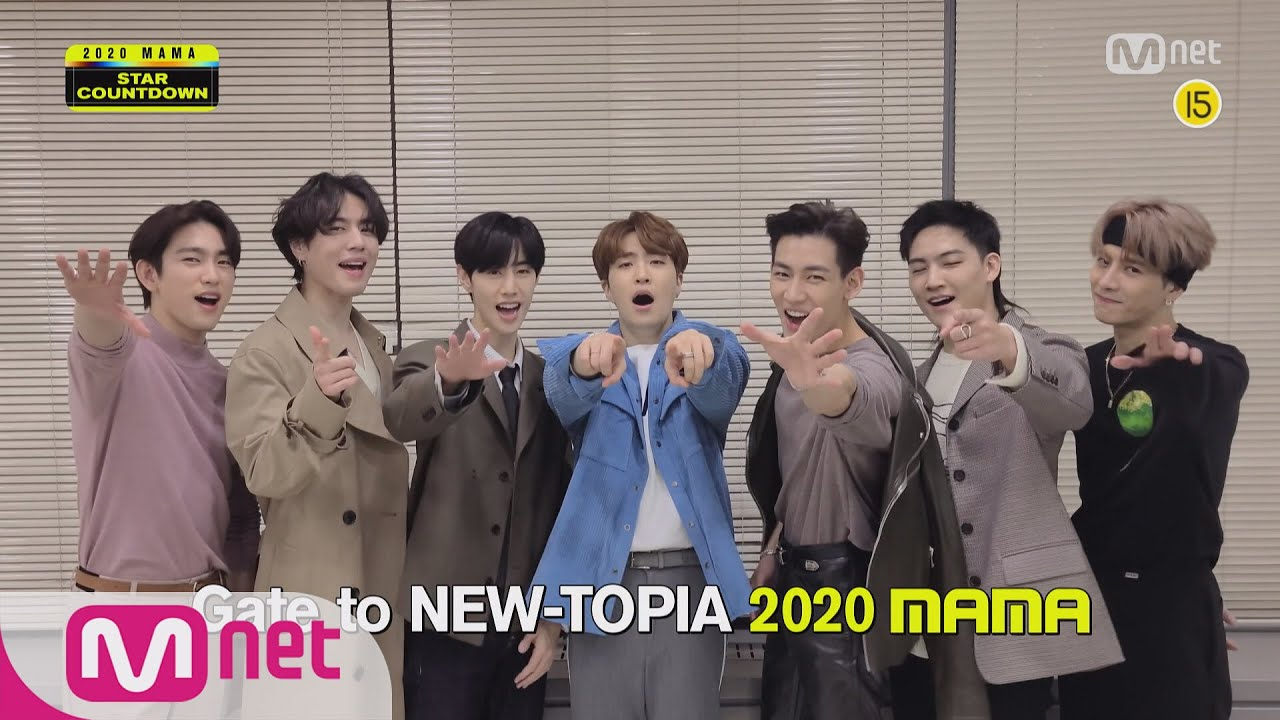 [2020 MAMA] Star Countdown D-7 by GOT7