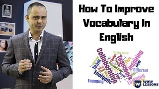 How To Improve Vocabulary In English - Wow Lessons