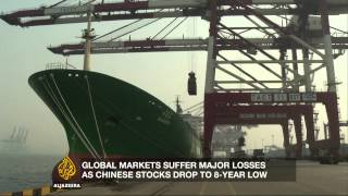 What is causing China's economic slowdown?