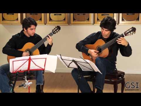 'La Rossignol' played by Mak Grgic and Taso Comanescu