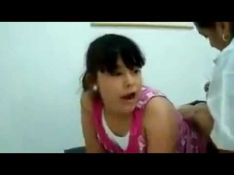 15 Years Old Girl Is Crying Because Doctor Gives Her Injection