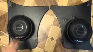 Автозвук ВАЗ 2101-2107 установка передних динамиков.(Установка акустической системы в автомобиль. Автомобильная система Pioneer. Автозвук своими руками. Подключ..., 2015-11-28T10:30:04.000Z)