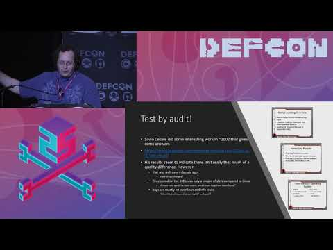 DEF CON 25 - Ilja van Sprundel - Are all BSDs are created equally? A survey of BSD kerne