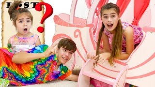 Nastya and Artem lost Mia - a mysterious story for children