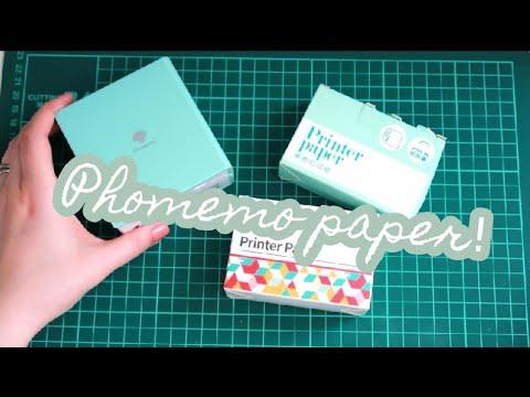 Phomemo Thermal Printer: Different Paper