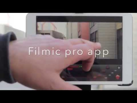 Filmic pro app - How to shoot professional looking videos on the ipad tutorial